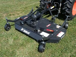2019bobcat 72 Finish Mower For Tractors 3 Pt Hook Up 540 Pto For Many Models