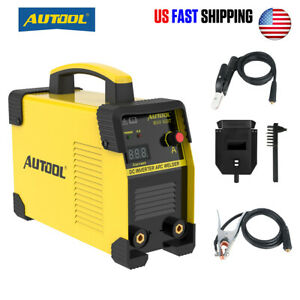 160a Digital Display Lcd Stick Arc Welder Dc Inverter Welding Machine 110v 220v