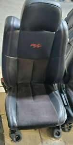 Dodge Durango R T Leather Front And Center Seats 2011 Through 2018 Very Nice Con