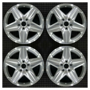 Set 2004 2005 Chevrolet Impala Monte Carlo Oem Factory Silver Wheels Rims 5187