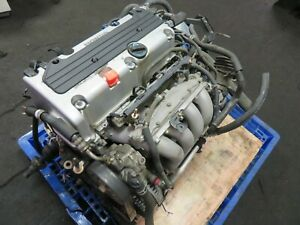 04 08 Jdm Acura Tsx K24a Type S Engine 2 4l Ivtec Rbb Head 3 Lobe Cams K24a2