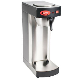 Avantco C15 Pourover Commercial Airpot Coffee Cocoa And Tea Brewer 120v