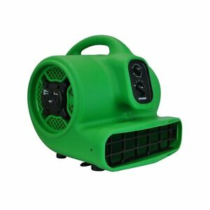 Xpower P 430at Medium Air Mover Utility Blower Fan With Built in Power Outlet