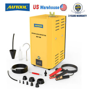 Autool Automotive Evap Smoke Machine Diagnostic Vacuum Leak Detection Tester