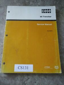 Case 60 Trencher Shop Service Repair Manual 8 66570