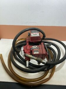 Tuthill Fill rite Fuel Pump 1200a W 800c Meter Transfer Hose