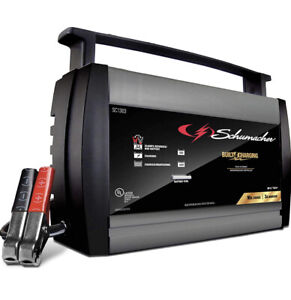 Schumacher Sc1303 6 12v Fully Automatic Battery Charger And 10a Maintainer