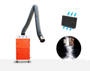 Welding Fume Extractor Single Arm Purifier Remover Soldering Fume Absorber 220v
