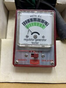 Sears 6v 12v Alternator Generator Regulator Tester 244 2148