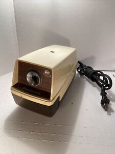 Vintage Panasonic Kp 33 Electric Pencil Sharpener With Stop Light Japan Tested