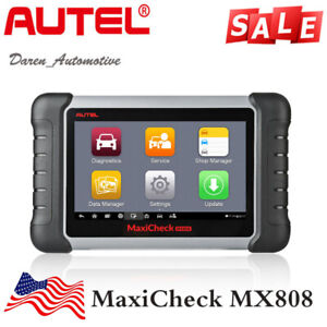 Autel Maxicheck Mx808 Mk808 Md808 Car Diagnostic Obd2 Scanner Tool Sas Tpms Immo