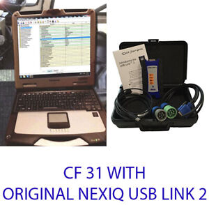 Diagnostic Diesel Truck Scanner Ecm nexiq Laptop Heavy Duty John Deere Tough