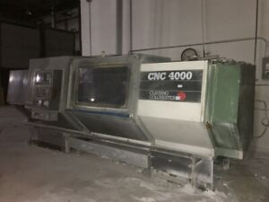 Clausing Colchester Cnc 4000 Flat Bed Lathe