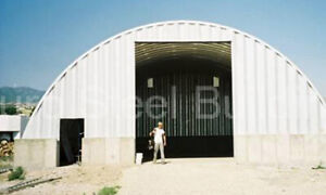 Durospan Steel 40x60x14 Metal Building Road Maintenance Salt Shed Factory Direct