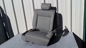 2008 Honda Element Rear Left Seat Second Row Gray Black Oem
