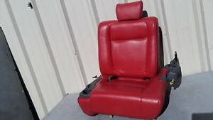 2003 2011 Honda Element Rear Left Seat Second Row Red Oem