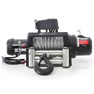 Smittybilt Xrc 15 5k Gen 2 Winch With 15 500 Lb Capacity 97415