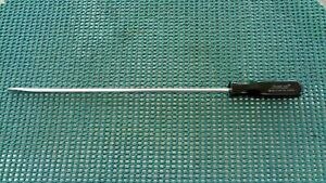 Snap on Tools Ssd1410 Flat Blade Long Shaft Black Handle Snap on Usa Tools