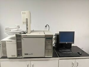 Hp 5890 5972 Gc ms Autosampler Computer software Tested Working