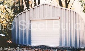 Durospan Steel 25x40x12 Metal Building Diy Garage Kit Workshop Factory Direct
