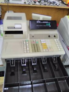Tec Ma 1600 Electronic Cash Register Real Good Condition Refurbished