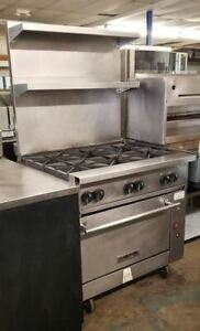 Vulcan Gas 6 Burner Range With Convection Oven 36c 6bn