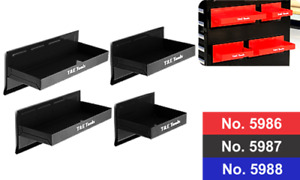 Magnetic Parts Tray 4pc Set Black For Toolboxes T E Tools 5987