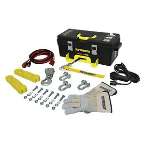 Superwinch Winch2go Winch With Synthetic Rope And 4 000 Lb Capacity 1140232