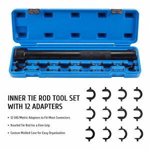 Inner Tie Rod Removal And Installation Tool Set For Autos Cars Trucks More 13pcs