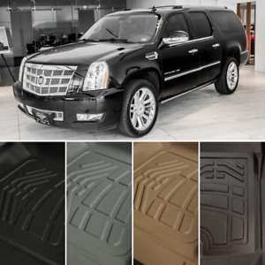 Surefit Floor Mats Front Second Row For 2007 2014 Cadillac Escalade Esv