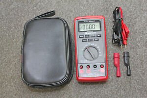 Snap on Eedm504d Auto Ranging Digital Multimeter