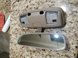 Toyota 4runner Tacoma T100 Tundra Camry Rear View Mirror Dome Light Assy Tan Oem