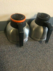 Bunn Commercial Regular Decaffeinated Thermal Carafes Coffee Pots 40163 0000