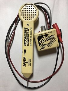 Progressive Electronics 200ep Inductive Amplifier 77m The Tracer Kit Tone Tester