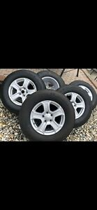 Michelin Tires 245 75 R17 Set Of 5 Factory Tires And Rims For Jeep Wrangler