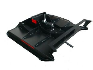 60 Rut Mfg Brush Mower cutter For Skid Steer Ctl And Mtl 10 25 Gpm