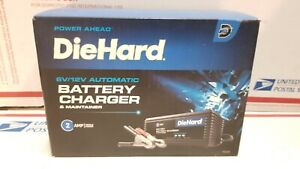 Diehard 6 Volt And 12 Volt Battery Trickle Charger Maintainer New