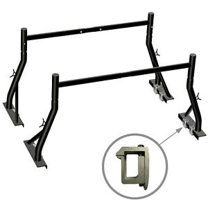 Truck Ladder Rack 800lbs Capacity Heavy Duty Extendable Universal Pickup Rack