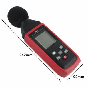 Digital Sound Level Decibel Noise Meter Audio Diagnostic Tool 30 130db Logger