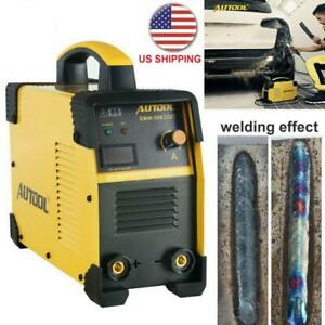 110v Portable Digital Welding Machine Igbt Dc Mma Arc Welder Inverter 160a