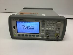 Hp Agilent 33511b Trueform Series 20mhz Function Waveform Generator Tested