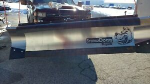 Snowdogg Hd80 Snow Plow Great Condition With Mount And Wiring Only 3 Years Old