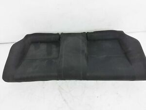 2006 2007 2008 Honda Civic Si Coupe Rear Lower Seat Portion Black