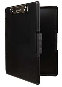 Dexas 3517 91 Slimcase 2 Storage Clipboard With Side Opening Black Black