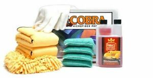 Car Detailing Cleaning Microfiber Starter Kit Towels Wash Mitt Gloves And More