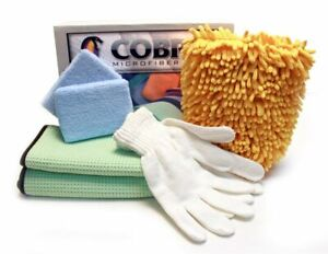 Car Detailing Cleaning Microfiber Super Kit Towels Gloves Wash Mitt And More