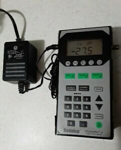 Sadelco Displaymax Jr Signal Level Catv Meter Great Checking Cable Signals