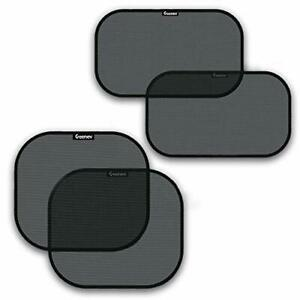 Car Sun Shades For Side And Rear Window 4 Pack Car Sunshade Protector Pro