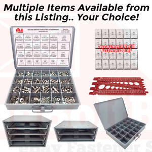 18 8 Stainless Steel Hex Cap Screw Bolt Nut Washer 304 Assortment Or Accessories