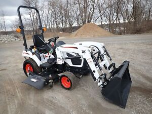 New Bobcat Ct1025 Compact Tractor W Loader Belly Mower Hydro 4x4